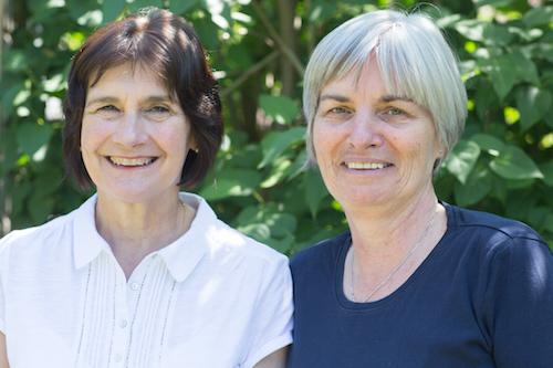 Mary and Sandra small